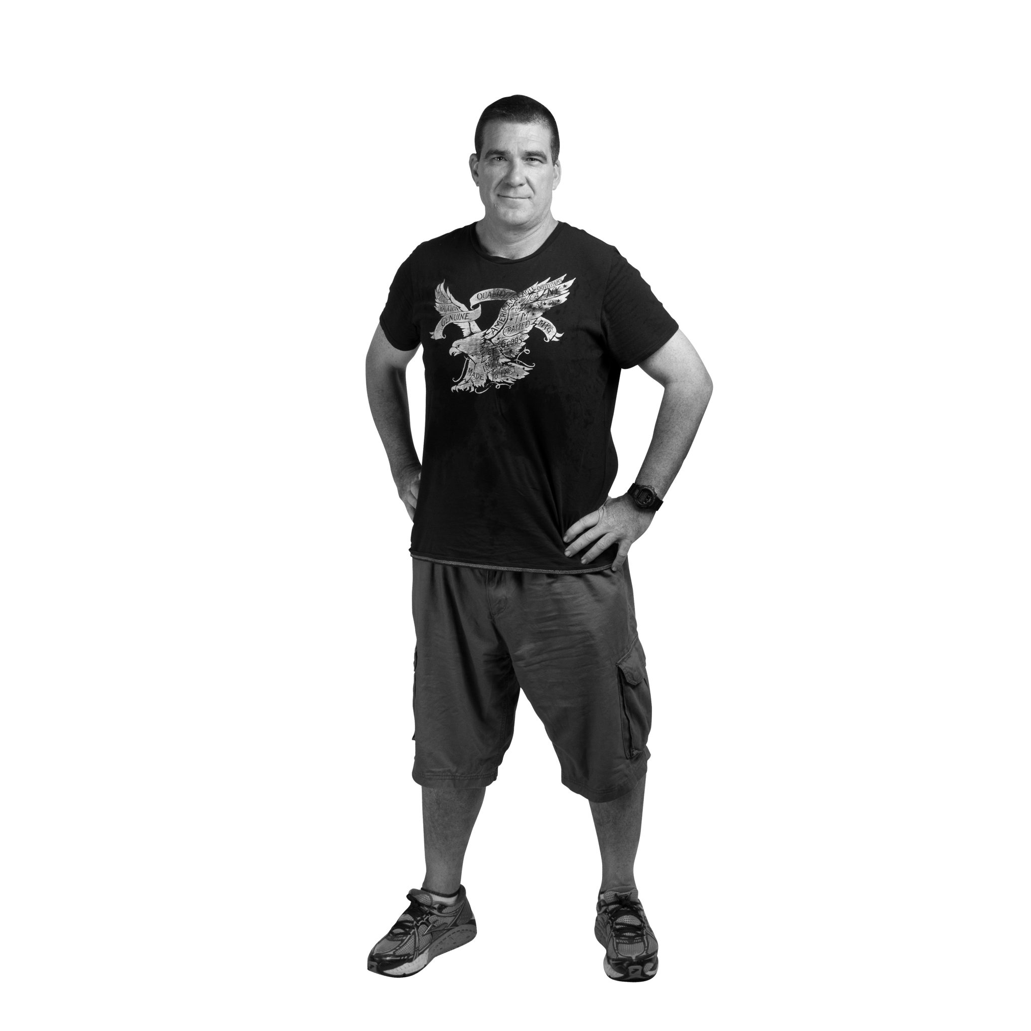 The Man Challenge: How Trav lost 28 kilograms