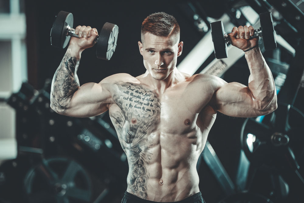 fit and lean man